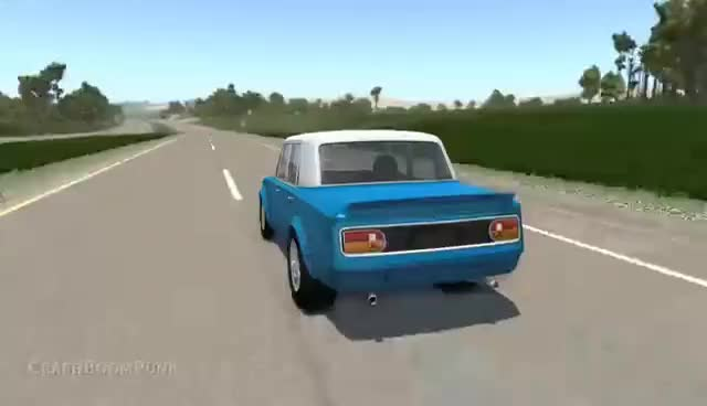Watch and share High Speed Crash – BeamNG Drive GIFs on Gfycat