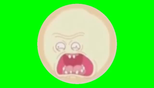 Watch and share Rick And Morty: Screaming Sun Greenscreen GIFs on Gfycat
