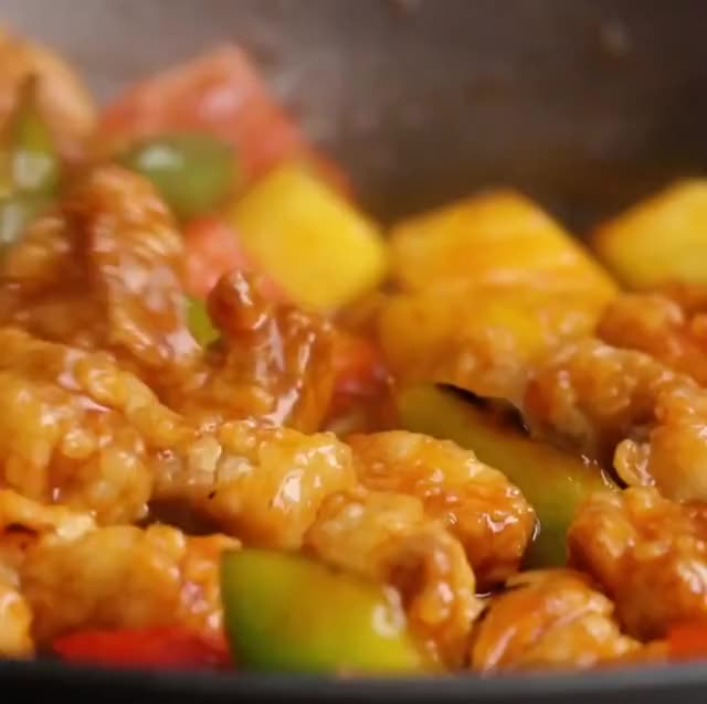 Watch and share Sweet And Sour Pork GIFs by Z3F on Gfycat
