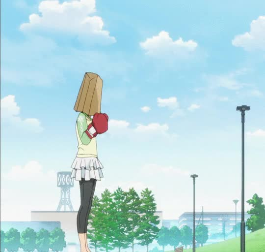 Watch Punching Bag | Working!! / Wagnaria!! GIF on Gfycat. Discover more related GIFs on Gfycat