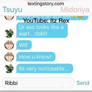 Watch and share Boku No Hero Group Chat Pt.1 GIFs on Gfycat
