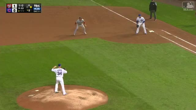 Watch and share Lester Picks Off Zimmerman GIFs by cranboy on Gfycat