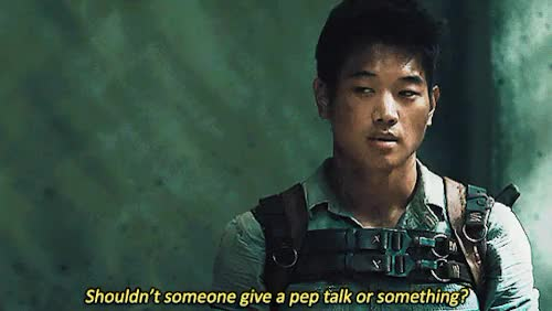 Watch and share Ki Hong Lee GIFs and Maze Runner GIFs on Gfycat