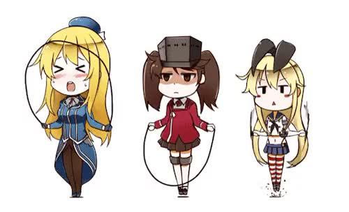 Watch and share Kantai Collection GIFs and Shimakaze GIFs on Gfycat