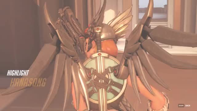 Watch Mercy post nerf GIF by @princepaulo23 on Gfycat. Discover more Mercy, Nerf, Oasis, Overwatch, Valkyrie GIFs on Gfycat