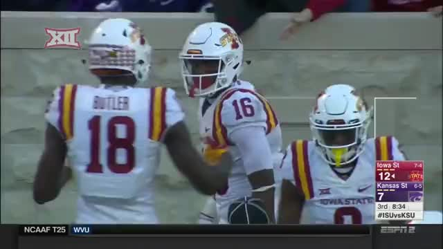 Watch and share Iowa State - TD 2 GIFs by jjiii31 on Gfycat