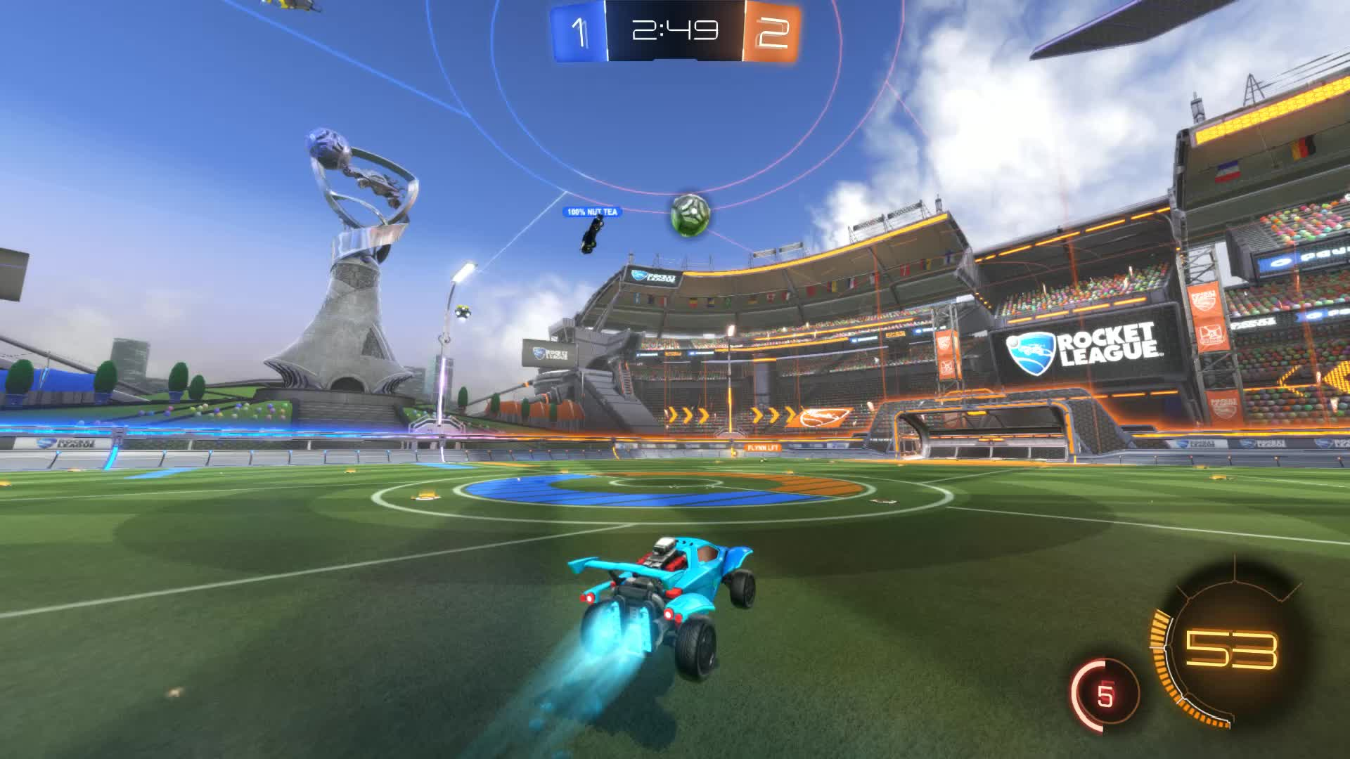Demo, Gif Your Game, GifYourGame, Rocket League, RocketLeague, Traceur YT, Demo 5: Traceur YT GIFs