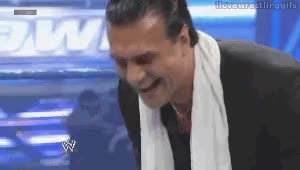 Watch I Love Wrestling Gifs — Alberto Del Rio laughing GIF on Gfycat. Discover more related GIFs on Gfycat
