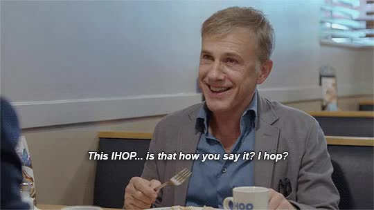 Watch and share Christoph Waltz GIFs on Gfycat