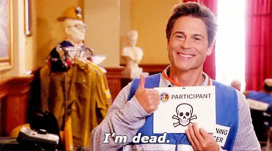 Watch this chris traeger GIF on Gfycat. Discover more chris traeger, dead, rob lowe GIFs on Gfycat
