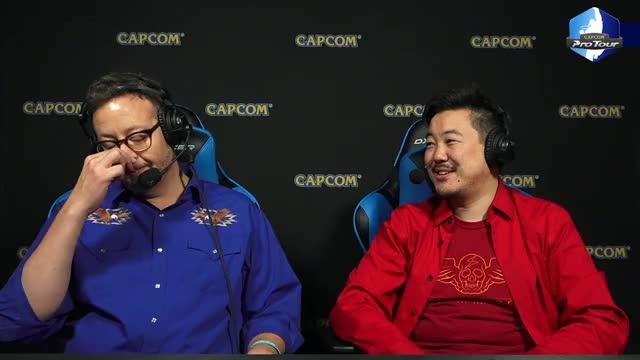 James evil laugh CapcomFighters GIF