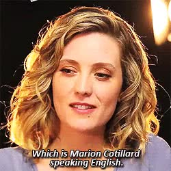 Watch things to see, people to do GIF on Gfycat. Discover more I MEAN SHE TALKED ABOUT MARION, IT IS TOO MUCH, SPEAKING ENGLISH, ebro, evelyne brochu, marion cotillard, my edit, ob, orphan black, this killed me GIFs on Gfycat