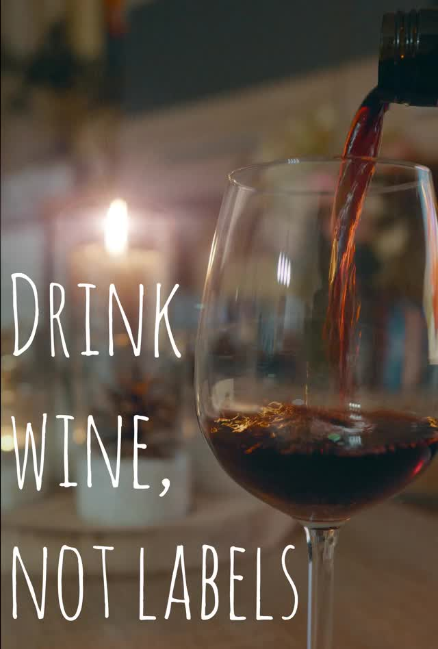 Watch and share Drink Wine, Not Labels GIFs by maisblau on Gfycat