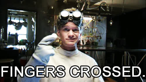 fingers crossed, neil patrick harris, crossing fingers GIFs