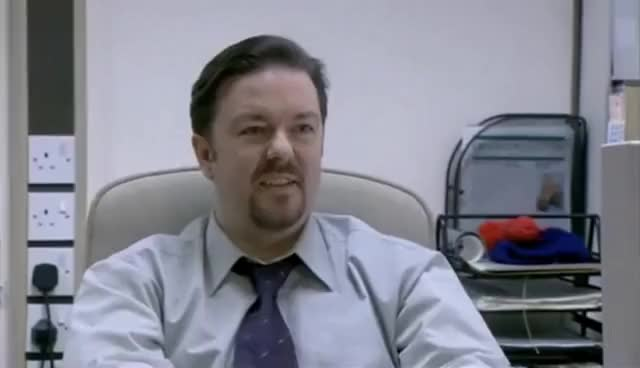 Watch and share Oooh You're Hard...David Brent GIFs on Gfycat