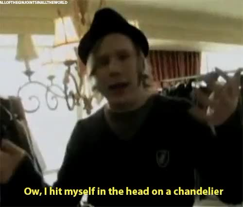 Watch 3. 2. 1. we go live GIF on Gfycat. Discover more chandelier, fall out boy, fob, goofball, head bump, hes so cute, patrick stump GIFs on Gfycat
