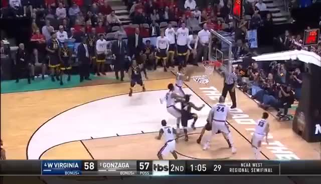 Watch West Virginia vs. Gonzaga GIF on Gfycat. Discover more related GIFs on Gfycat
