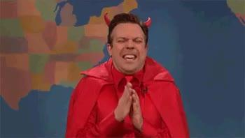 Watch Jason Sudeikis Satan YEAH GitI GIF on Gfycat. Discover more adviceanimals, gfycatdepot GIFs on Gfycat