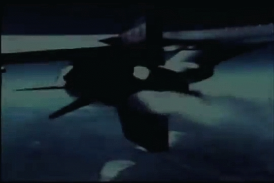 SpaceGifs, aviationgifs, X-15 launches into space from a B-52 (reddit) GIFs