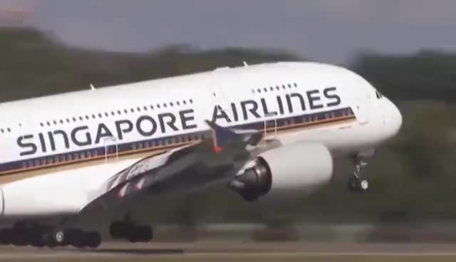 Watch and share Airbus A380 Take-Offs, Landings, In Flights [HD] GIFs on Gfycat