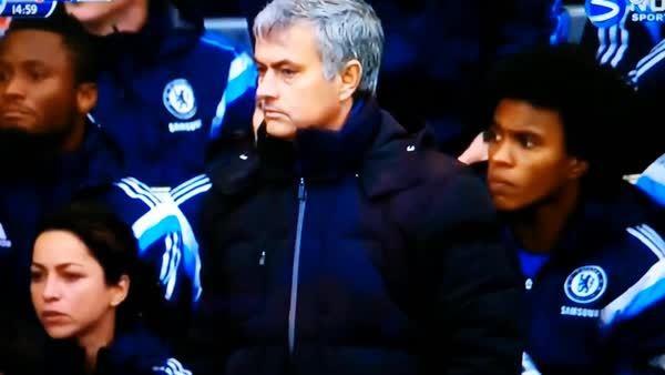 mourinhogifs, soccer, Mourinho Told that Chelsea Scored (reddit) GIFs