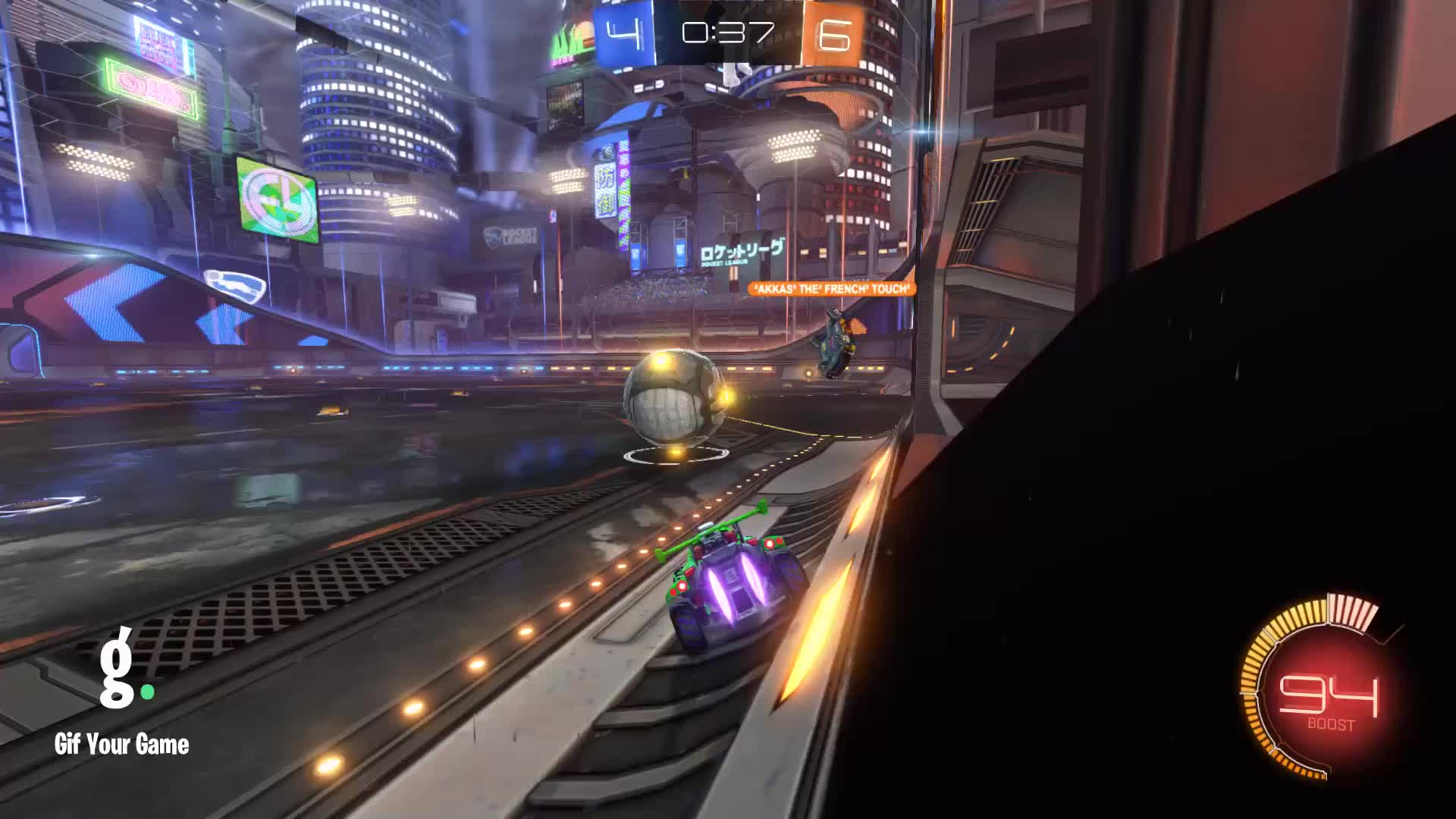 Gif Your Game, GifYourGame, Goal, Rocket League, RocketLeague, 🎬 Stitched 5 clips 7/18/2019 GIFs