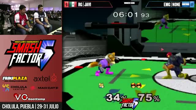 Watch SF5 SSBM - RG | Javi (Fox) Vs. EMG | n0ne (Captain Falcon) Smash Melee Winners Semis GIF on Gfycat. Discover more games, smashgifs, twitch GIFs on Gfycat