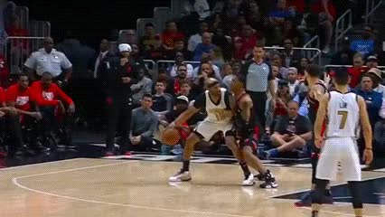Watch and share Vince Carter — Atlanta Hawks GIFs by Off-Hand on Gfycat