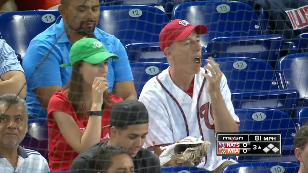 nationals fans eating nachos GIFs