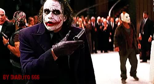 Watch Dark knight GIF on Gfycat. Discover more heath ledger GIFs on Gfycat