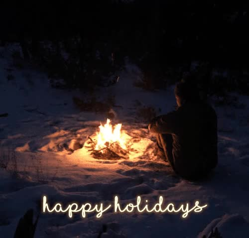 Watch and share Happy Holidays Animated Gif Greeting Card Image GIFs on Gfycat
