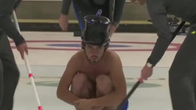 Watch and share Curling GIFs and Sports GIFs by HoodieDog on Gfycat