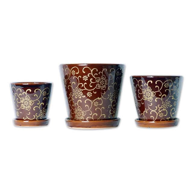 Watch and share TransSino Treasures Ceramic Flower Pots GIFs by transsinotreasures on Gfycat