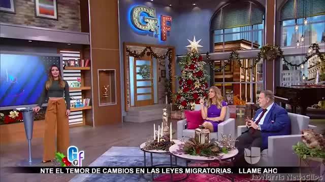 Watch and share Univision - Clarissa Molina (12-06-16) GIFs on Gfycat