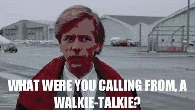 Watch and share Walkie Talkie GIFs on Gfycat