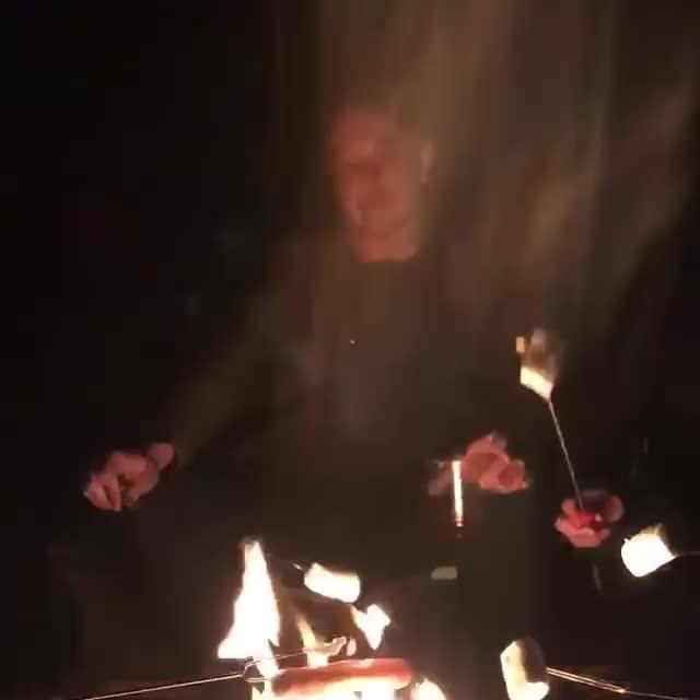 elonmusk campfire GIFs