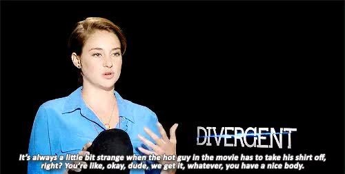 Watch and share Shailene Woodley GIFs on Gfycat