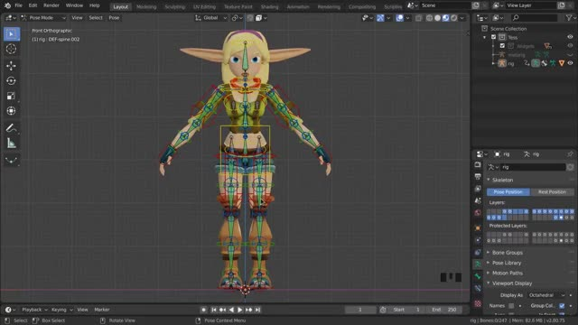 Watch and share Blender - Fixing Weights Part3 GIFs on Gfycat