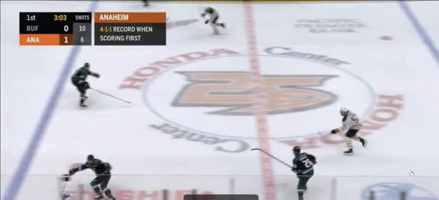 Watch 2018-11-08 16-49-18 GIF by @coreyathletic on Gfycat. Discover more Anaheim Ducks, Buffalo Sabres, hockey GIFs on Gfycat