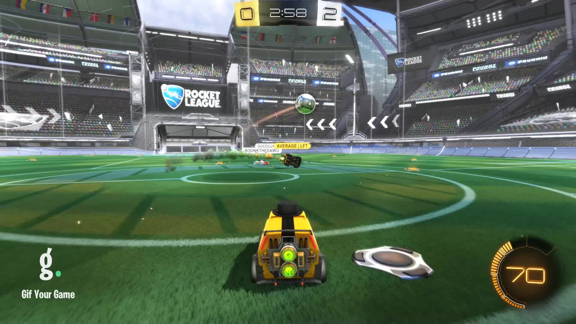 Gif Your Game, GifYourGame, Goal, Rocket League, RocketLeague, datboi, Goal 3: datboi GIFs
