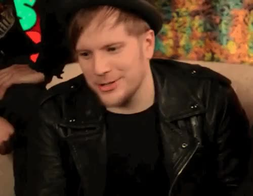 Watch and share Patrick Stump GIFs and Scruffy Cakes GIFs on Gfycat