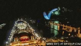 Watch and share Navy Pier At Night GIFs on Gfycat