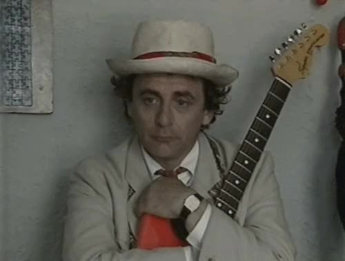 Watch and share Sylvester Mccoy GIFs and Twelfth Doctor GIFs on Gfycat