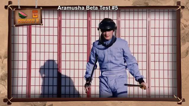 Watch Aramusha Beta Test GIF on Gfycat. Discover more Aramusha, Fruit Ninja (Video Game), Rooster Teeth Productions (Business Operation), burnie burns, gavin free, gus sorola, immersion, myth busters, rooster teeth, slow mo guys, video game GIFs on Gfycat