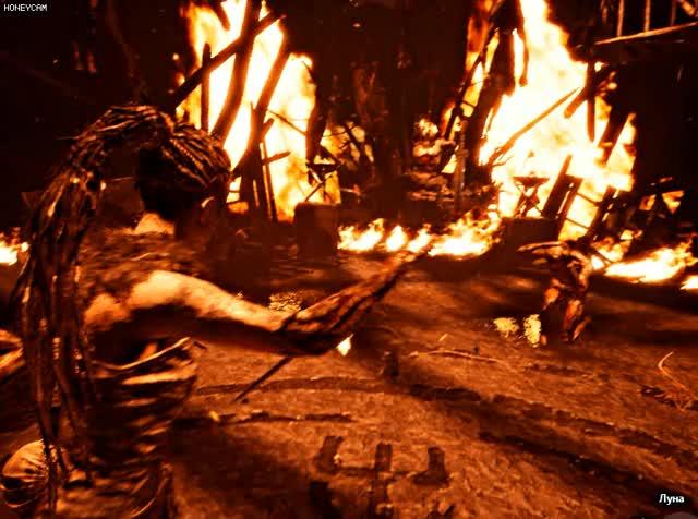 Watch and share Hellblade: Senua's Sacrifice GIFs by Елена on Gfycat
