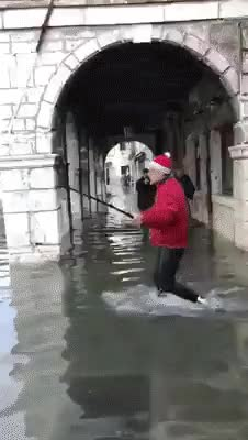 Watch and share Ahhhh, Now I'm In Venice, And I Take A Nice Selfie! GIFs on Gfycat