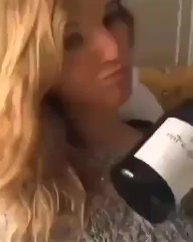Wine served