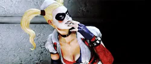 Watch and share Harley Quinn GIFs on Gfycat