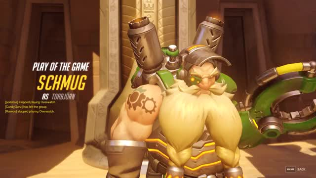 Watch and share Torbjorn Reaper Deny And Mercy Killing GIFs by schmug on Gfycat