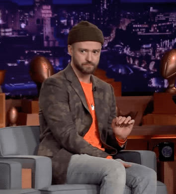 awkward, confused, justin timberlake, paranoid, skeptical, tonight show, uncomfortable, wait what, what, Justin Timberlake Awkward GIFs